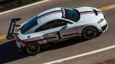 El Audi TT clubsport turbo concept se viste de 90 IMSA GTO y tiene 600 CV