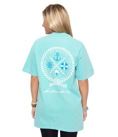 Nautical Rope S/S | Chalky Mint | The Southern Shirt Company |