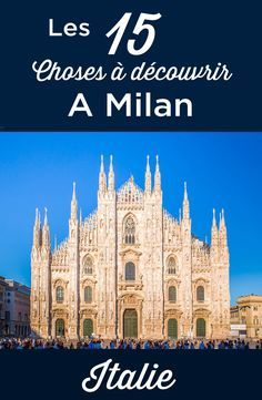 Visit milan: top 15 things to do and must see attractions italy travel ba. Best Places In Italy, Cool Places To Visit, Milan Travel, Italy Destinations, World Travel Guide, Italy Travel Tips, Voyage Europe, Italy Tours, Visit Italy