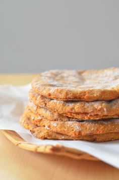 Sweet Potato-Rye Rieska (V) | Scandi Foodie.