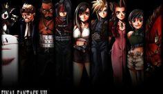 Resultado de imagem para final fantasy vii characters