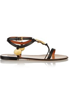a0a7c5f9708e24 Valentino - Abyss embellished leather sandals