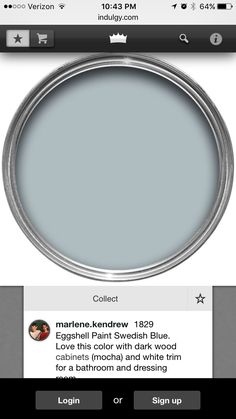 LOVE this color!!! Blue Paint Colors, Paint Color Schemes, Favorite Paint Colors, Room Colors, Wall Colors, House Colors, Colours, Interior Paint Colors For Living Room, Paint Colors For Home