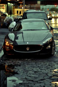 Maserati Gran Turismo ♥ www. Lamborghini, Bugatti, Ferrari, Maserati Car, Luxury Sports Cars, Sport Cars, Maserati Granturismo, Dream Cars, My Dream Car
