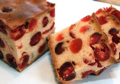 Cherry Cake, with lots of cherries; I wonder if it would work with an almond flavour? Scottish Recipes, Hungarian Recipes, Delicious Desserts, Dessert Recipes, Cherry Cake, Eat Pray Love, Sweet Cookies, Home Baking, High Tea