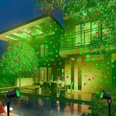 Laser LED outdoor light show, waterproof, long cord, best price, LIMITED SUPPLY!