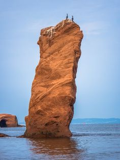 Canada, Bay Of Fundy, Water, Bay, Rock, Rock Formations