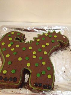 Dino, the cake