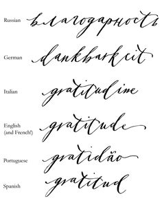 COLLABORATION WITH BURDASTYLE Gratitude QuotesGratitude TattooCool FontsBeautiful
