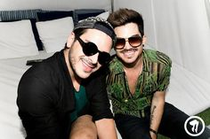 Adam Lambert Pool Party Pic At Club Called Rhonda 09/02/13 – at The Standard, Hollywood.