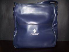 Vintage Airline Travel Bag  Singapore Airline by olysoldies, $30.00. or at the EcoShop for a buck! yeah Bargin