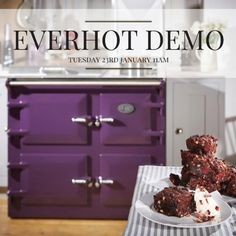 Kernow Fires are holding their first ever cooking event! To find out more about the Everhot Demo on the January call the office today. Electric Cooker, Electric Fires, Electric Oven, Biomass Boiler, Cornwall, Showroom, Stove, January, Cooking