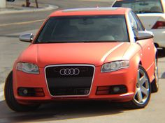 MidWest Dipping Car Wraps and More!: 2006 Audi S4 (DYC matte Koi Orange!!!!) *new*