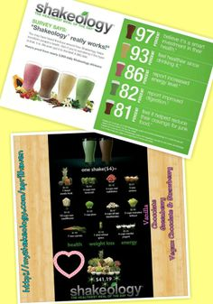 SHAKEOLOGY: The healthiest meal of the day & MORE!!! With only $4.00 per meal, you can NOT beat this deal. Message me on how you can save 25% off on your order! You can like my page on fb: fb.com/aprilfitfam OR Visit my website:  www.beachbodycoach.com/APRILHAVEN Please do not hesitate to leave me a message :)