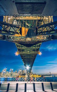 Harbour bridge,Sydney