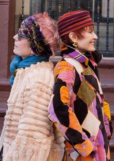 ADVANCED STYLE: Senior Blogger Spotlight: Style Crone Judith Boyd with Debra Rapoport