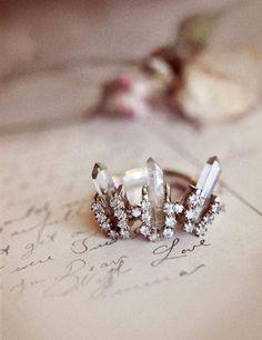 crown #wedding #ring