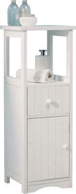 white wooden free standing bathroom cabinet bathroom