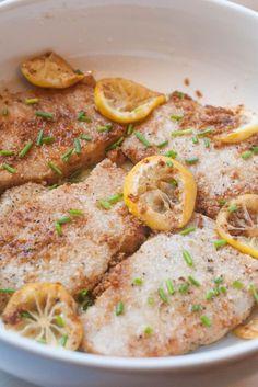 Garlic Lemon Pork Chops (AIP/Paleo)