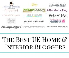 The Best UK Home & Interior Bloggers - The Ana Mum Diary