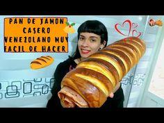 Pan de jamón venezolano (RECETA paso a paso) dos rellenos deliciosos / Pansteleria - YouTube Venezuelan Recipes, Venezuelan Food, Relleno, Hot Dog Buns, The Creator, Bread, Youtube, Ham Loaf, New Recipes