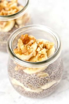 6 Ways to Make Healthy Chia Pudding - Simply Quinoa Healthy Dessert Recipes, Gourmet Recipes, Cooking Recipes, Easy Recipes, Pudding Flavors, Pudding Recipes, Pudding Ingredients, Chia Recipe, Snacks Sains