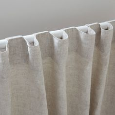 Image 3 of the product Faded linen curtain Image 3 of the product Faded linen curtain Home Curtains, Cotton Curtains, Curtains With Blinds, Blackout Curtains, Zara Home, Window Bed, Window Seats, Curtain Hardware, Cottage Kitchens