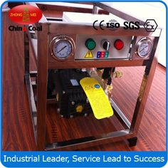 chinacoal03 Electric Cold Water High Pressure Washer  cold water washer  ,  electric cold water washer ,  electricl pressure washer   Strong power Quadrupole motor with overload protection Motor with aluminum casing Commercial grade direct drive brass cylinder ceramic plungers radial direction pump 10m high- pressure hose Pressure adjustable