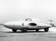 The GAZ TR Arrow. A 1954 Soviet car with a jet engine.