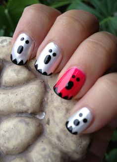 Halloween Nails - Ghost French Manicure and Other Halloween Nails