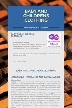 Baby and Childrens Clothing - Quality Cool Fun Clothing by David Twomey Baby Things, Boy Or Girl, Cool Outfits, Age, Girls, Clothing, Cool Clothes, Little Girls, Outfit