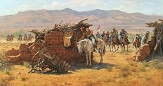 Howard Terpning leads a distinguished pack of artists who are preserving the culture of Native Americans American Indian Wars, American Indians, Howard Terpning, Tom Lovell, Native American Models, Indian Scout, West Art, American Frontier, Le Far West