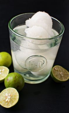 Key Lime Sorbet Tequila Cocktail | Culinary Concoctions by Peabody