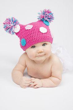 9a8680a916c Crochet Baby Hats - 15 Styles!