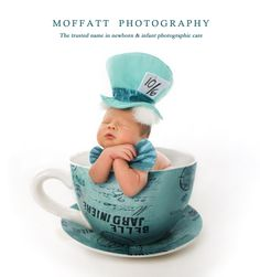 Adorable Mad Hatter Newborn Love  Disney Alice in Wonderland