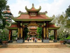 Why don't you come to Ben Duoc martyrs memorial #temple in Cu Chi to commemorate the huge services of the people, the soldiers who fought and sacrificed in the area of #Saigon - Cho Lon - Gia Dinh in the two wars against #French and #American invaders. #BenDuocmartyrsmemorialtemple #hochiminhcity #Saigoncitytours #travel #cuchi