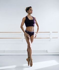 Misty Copeland Dance Videos | See Misty Copeland, the first African-American female principal dancer for American Ballet Theater, in action in these stunning dance videos. #refinery29 http://www.refinery29.com/2015/06/90000/misty-copeland-dance-videos