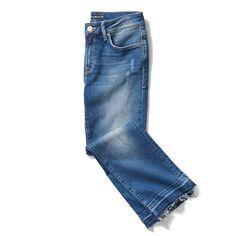 Stitch Fix Spring Styles: Raw Hem Jeans