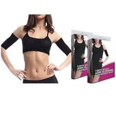 d07081481c Lose inches and cellulite with this pair of arm slimmer compression wraps!  68% Off