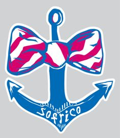 SoFriCo Anchor Decal – Southern Fried Cotton