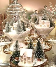 We are very proud to introduce some Elegant Table Centerpiece Ideas For Christmas that will just make your Christmas table standout. Holiday centerpiece decorations are a certain elegant arrangements for your holiday table made of decorative items used i Beautiful Christmas Decorations, Elegant Christmas, White Christmas, Holiday Decor, Vintage Christmas Wedding, Winter Wonderland Christmas, Coastal Christmas, Country Christmas, Seasonal Decor