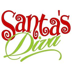 Santa's Diva Custom saying embroidered tshirt or by lateedatees, $21.00