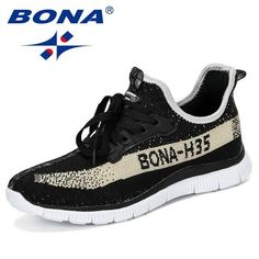 $38.95 | BONA 2019 New Summer Chaussure Homme Outdoor Men Running Shoes Mesh Sneakers Man Sport Shoes Walking Shoes Male Comfortable Shoe Outfit Accessories FromTouchy Style | Free International Shipping. Comfortable Dress Shoes For Women, Comfortable Sneakers, Black Leather Sneakers, All Black Sneakers, Chunky Sneakers, Running Shoes For Men, Shoes Men, Men's Shoes, Outdoor Men