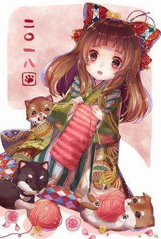 Read Phần from the story Anime Kimono by (YueZhou) with 44 reads. Anime Girl Kimono, Anime Girl Cute, I Love Anime, Manga Girl, Anime Art Girl, Chibi Neko, Cute Chibi, Manga Anime, Anime Oc