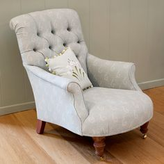 Susie Watson - Armchair-Button-Backed chair £895 - cheaper version somewhere?!?! Like the colour and stlye