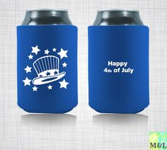 july 4th koozies