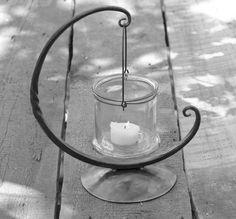 Hand forged Moon Lantern