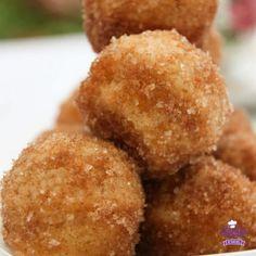 cinnamon sugar muffins  (make in mini muffin pans)