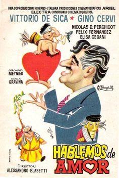 """Hablemos del amor (1958) """"Amore e chiacchiere (Salviamo il panorama)"""" de Alessandro Blasetti - tt0050121"""