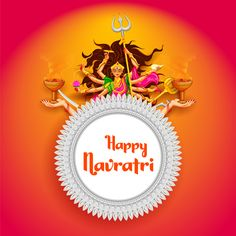May the nine auspicious days of Navratri bring hope and happiness in our lives. Navratri Greetings, Happy Navratri Wishes, Happy Navratri Images, Diwali Greetings, Gif Greetings, Hanuman Images Hd, Durga Images, Navratri Image Hd, Navratri Messages